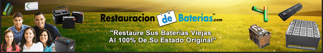 Restauración de Baterías
